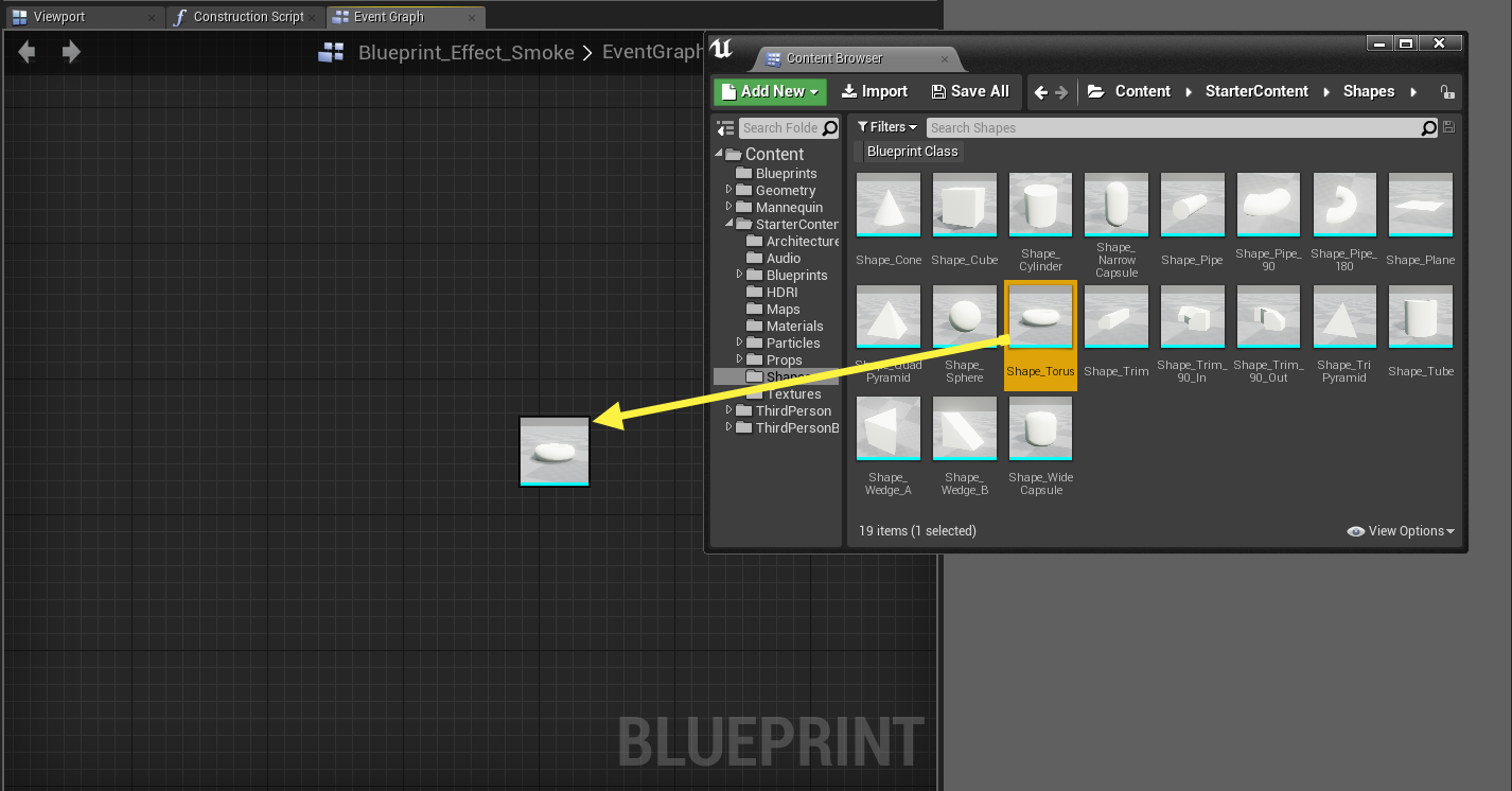 Graph editor tab unreal engine blueprints drag and drop component malvernweather Choice Image